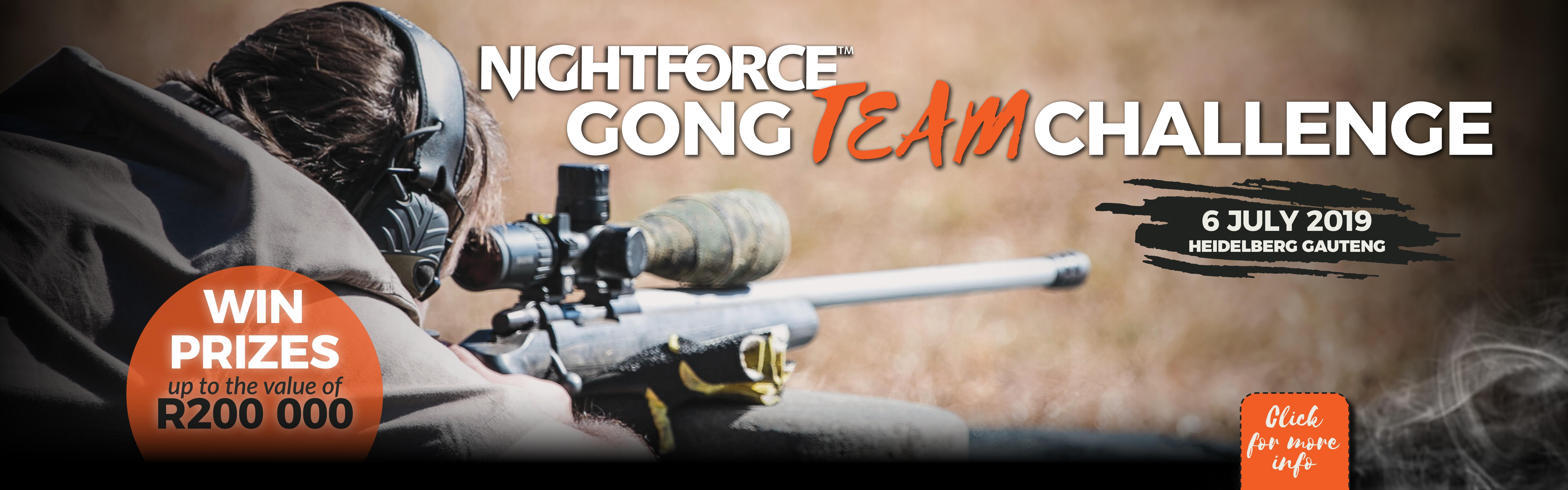 Safari Outdoor Nightforce Gong Challenge 6 July